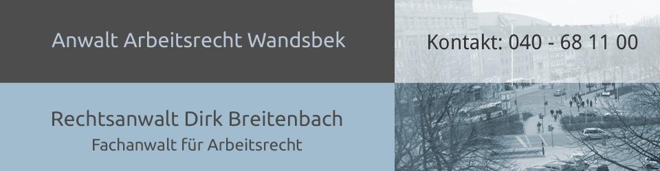 Ihr Anwalt für Arbeitsrecht aus Hamburg-Wandsbek